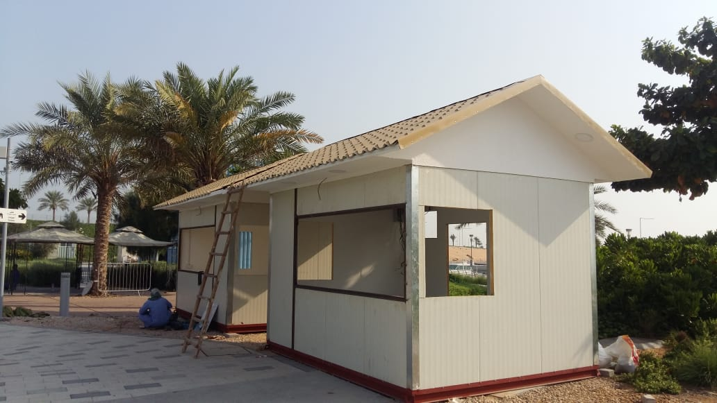 Portable Cabin Installation and Dismantling UAE