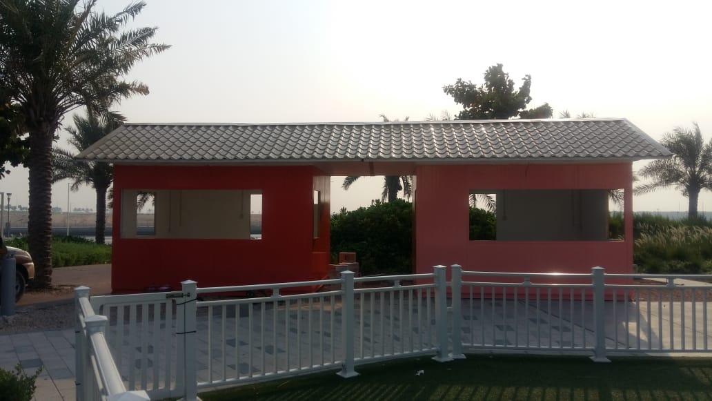 Porta Cabin Installation