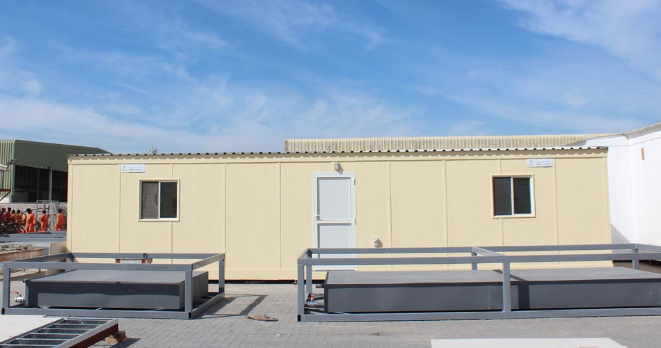 Different types of portable rental units